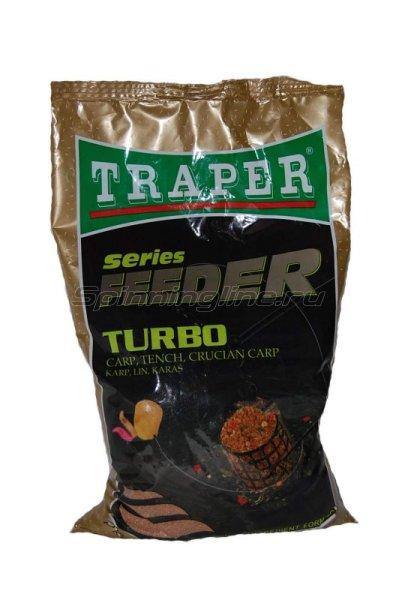 Прикормка Traper Feeder Турбо (карп, линь, карась) 1кг - фотография 1