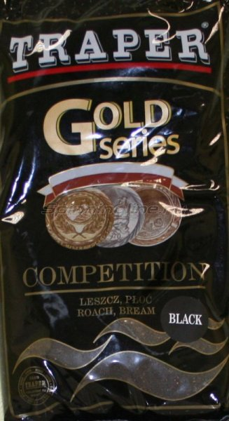 Прикормка Traper Gold Competition black 1кг -  1