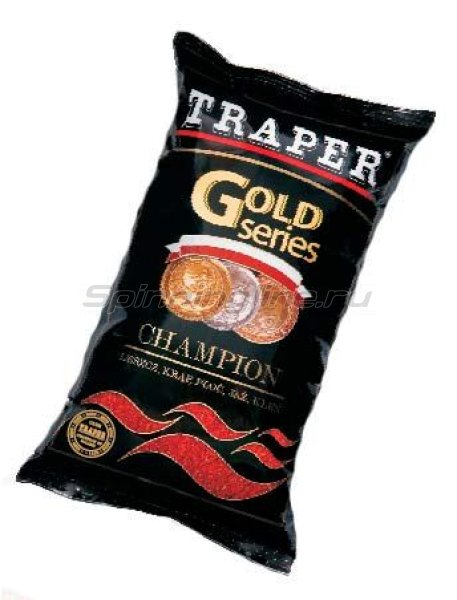 Прикормка Traper Gold Expert red 1кг -  1