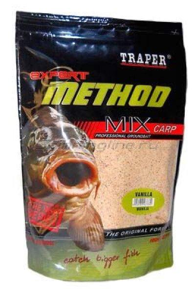 Прикормка Traper Method Mix Expert ваниль 1кг - фотография 1