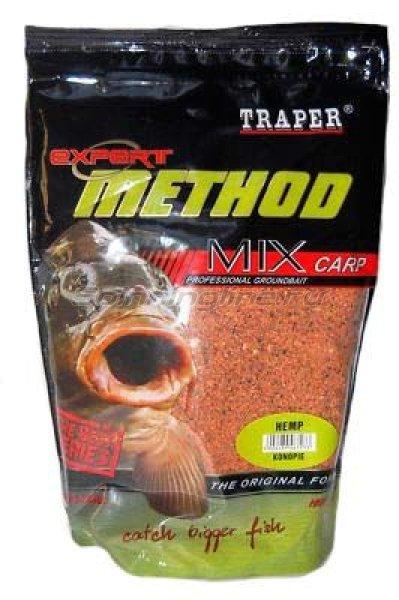 Прикормка Traper Method Mix Expert конопля 1кг -  1