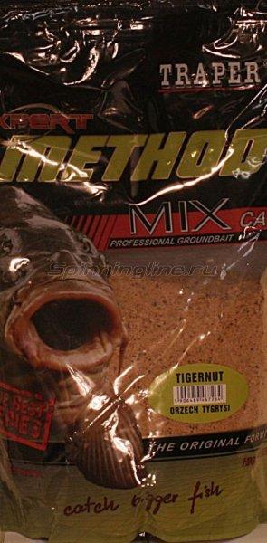 Прикормка Traper Method Mix Expert тигровый орех 1кг - фотография 1