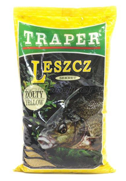 Прикормка Traper Sekret лещ желтая 1кг - фотография 1