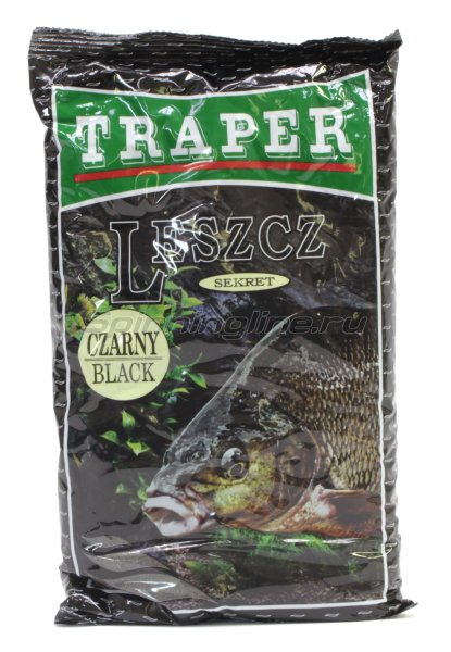 Прикормка Traper Sekret лещ черная 1кг - фотография 1
