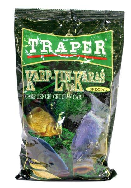 Прикормка Traper Special Карп-Линь-Карась 1кг -  1