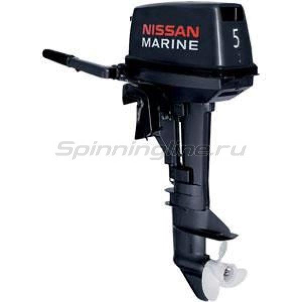 Мотор лодочный 2-х тактный Nissan Marine NS 5 B D1 -  1