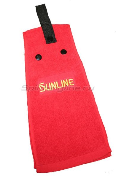 Полотенце Sunline Towel Red TO-100 красное - фотография 1