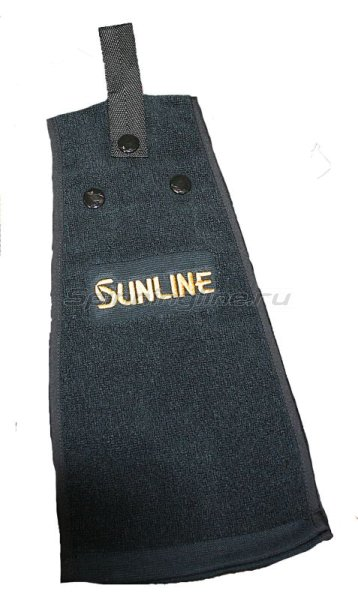 Полотенце Sunline Towel BlackTO-100 черное - фотография 1