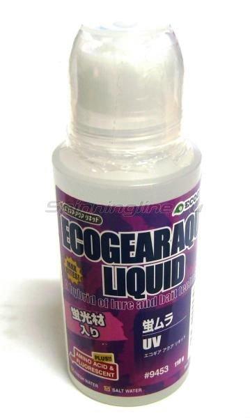 Аттрактант Ecogear Aqua Liquid 110гр ультрафиолет -  1