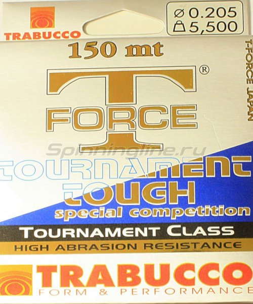 Леска T-Force Tournament Tough 150м 0,255мм -  1