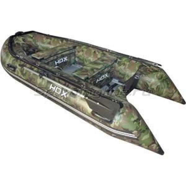 Лодка ПВХ HDX Oxygen 330 AL камуфляж зеленый - фотография 1