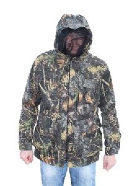 Куртка-штормовка Алом-Дар двойка (куртка+жилет) 56-58, рост 3-4, лес -  1