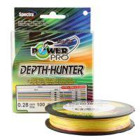 Плетеный шнур Power Pro Depth Hunter Multicolor