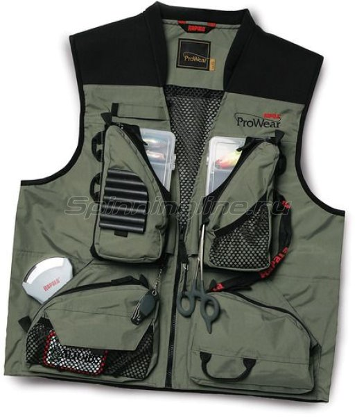 Жилет ProWear Shallows Vest зеленый S -  1