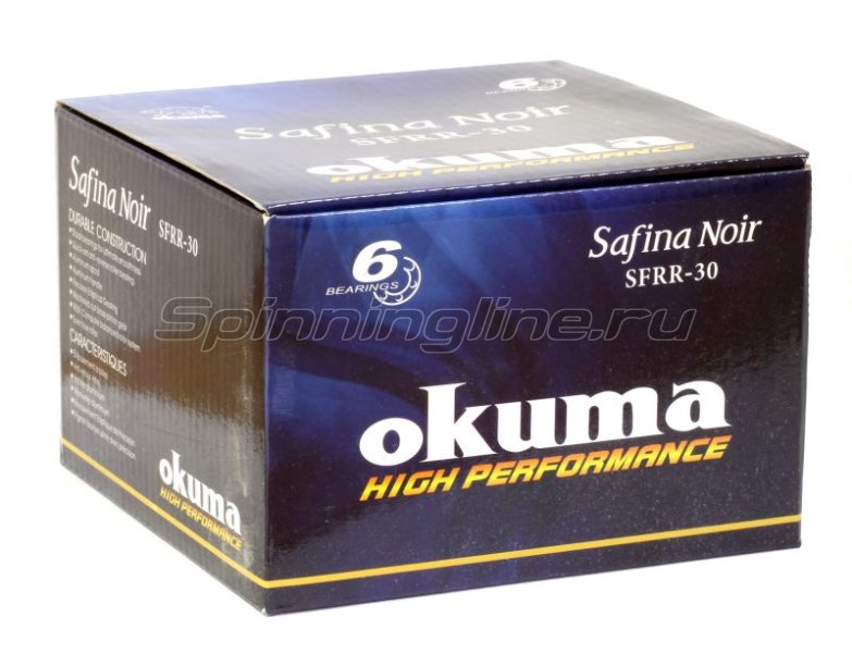 Okuma - Катушка Safina Noir 40 RD - фотография 6