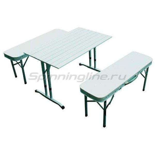 Стол складной Holiday Vector + 2 скамьи -  1