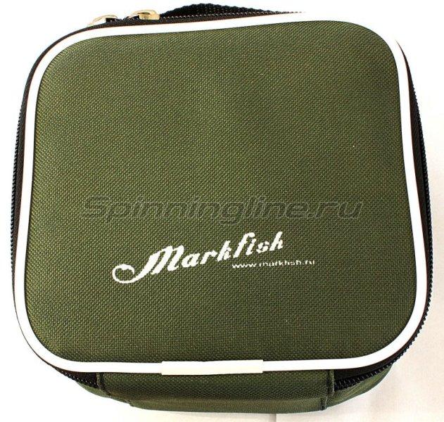 Чехол Markfish для катушки Эконом зеленый -  3