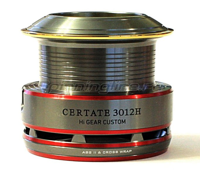 Шпуля Daiwa Spare Original Spool New Certate 3012H - фотография 1