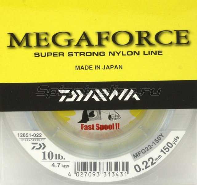Леска Megaforce Super Strong 135м 0, 25мм -  1