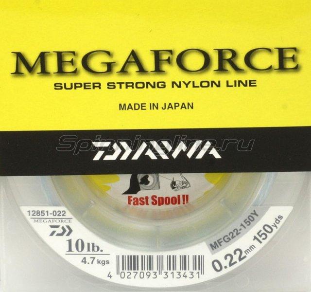 Daiwa - Леска Megaforce Super Strong 135м 0, 30мм - фотография 1