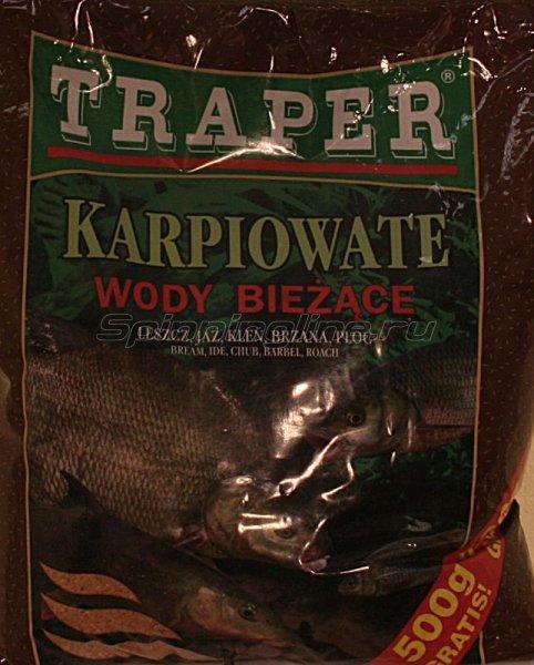 Прикормка Traper Karpiowate проточная вода 2.5кг -  1