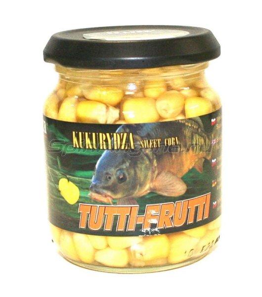 Кукуруза консервированная в заливке, тутти-фрутти 125гр -  1