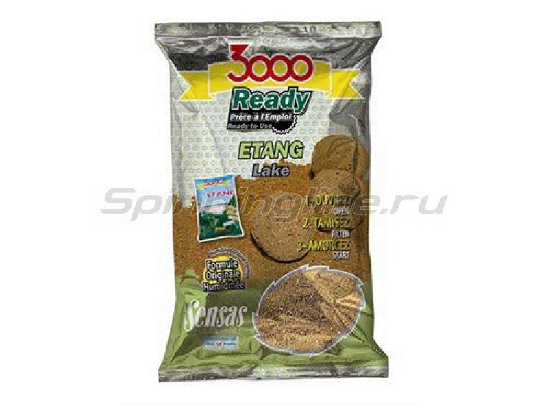Прикормка Sensas 3000 Ready Etang 1 кг - фотография 1