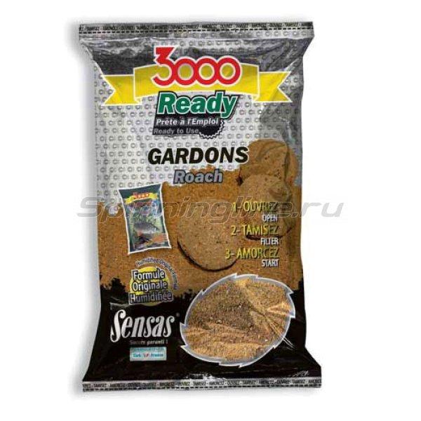 Прикормка Sensas 3000 Ready Roach 1 кг - фотография 1
