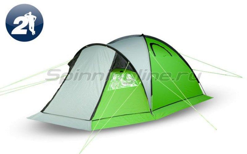 Палатка туристическая с традиционным каркасом Ideal 200 Aluminium -  1