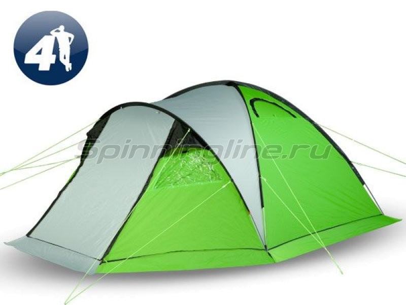 World of Maverick - Палатка туристическая с традиционным каркасом Ideal 400 Aluminium - фотография 1