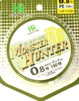 Шнур Monster Hunter PE 150м 1 зеленый