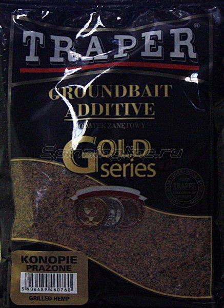 Traper - Добавка в прикорм Конопля прожареная 0,4кг - фотография 1