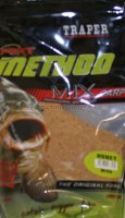 Прикормка Traper Method Mix Expert мед 1кг