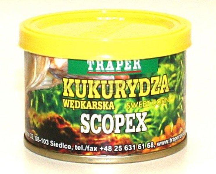 Насадка Traper консервированная кукуруза Scopex 70гр - фотография 1
