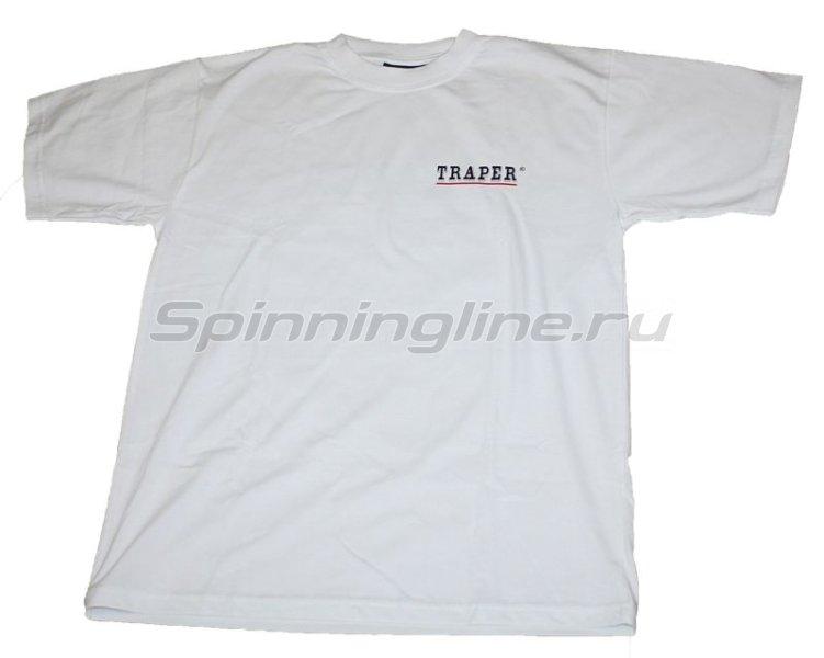 Футболка белая Traper XL - фотография 1