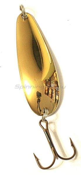 ИП Бубнов - Блесна Цимус латунь/никель 17гр - фотография 1