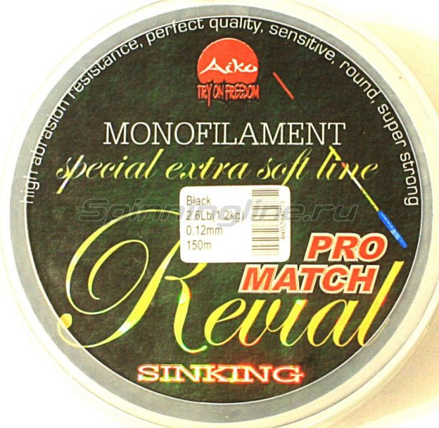 Леска Revial Match 150м 0,18мм -  1