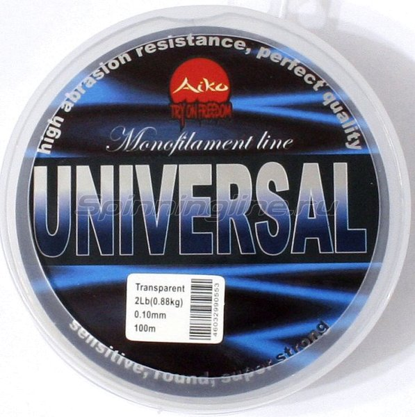 Aiko - Леска Universal 100м 0,16мм - фотография 1