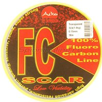 Флюорокарбон Aiko Scar FC-100% fluoro 50м 0.21мм