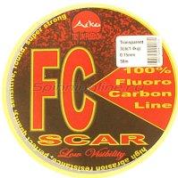 Флюорокарбон Aiko Scar FC-100% fluoro 50м 0.24мм