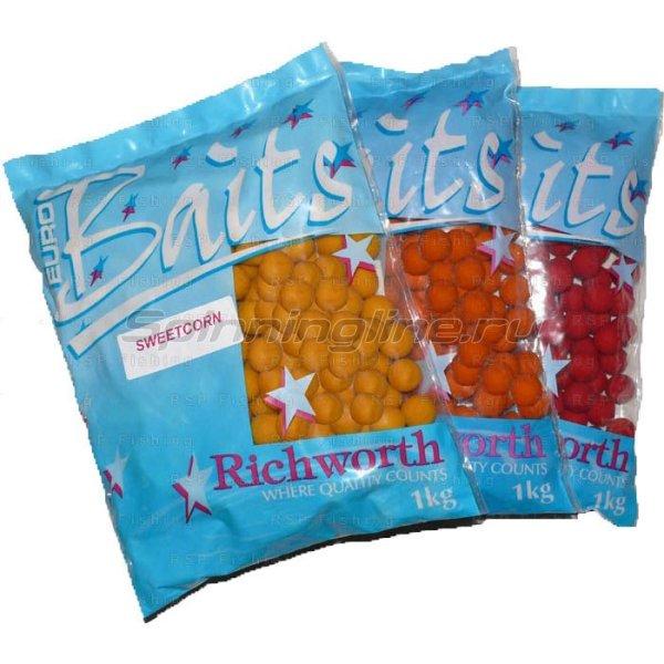 Richworth - Бойлы Euroboilies 20мм 1 кг Dark Tutti(темный тутти) - фотография 1