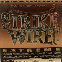 Шнур Wire Extreme 135м 0.17мм yellow