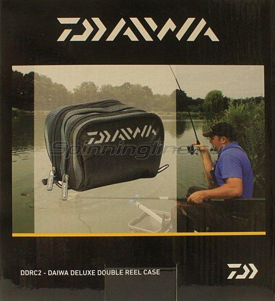 Чехол для катушки Daiwa DeLuxe Double Reel Case -  2