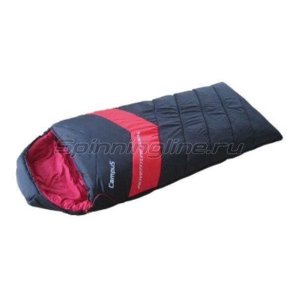 Спальный мешок Adventure 500SQ молния L (black 700/red 200) -  1