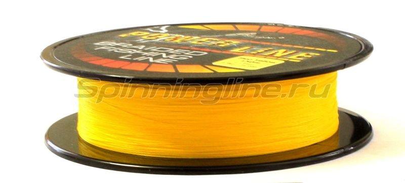 Шнур PowerLine Fl.Yellow 150м 0.13мм -  3