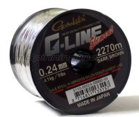 Леска G-Line Element Dark Brown 1490м 0,28мм