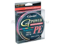 Шнур G-Power M-Color PE 150м 0.12мм