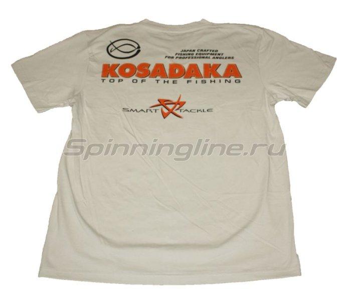 Футболка Kosadaka бежевая L - фотография 2