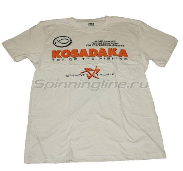 Футболка Kosadaka бежевая XL - фотография 1