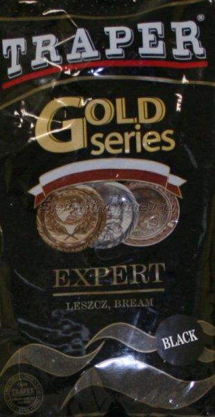 Прикормка Traper Gold Expert black 1кг -  1